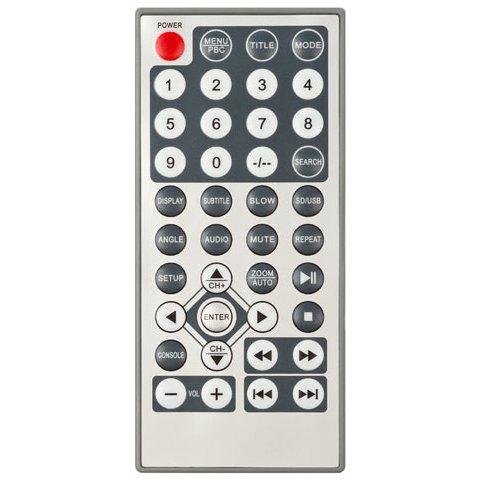 """Универсальный подголовник с 7"""" сенсорным TFT ЖК-монитором и DVD-плеером Превью 5"""