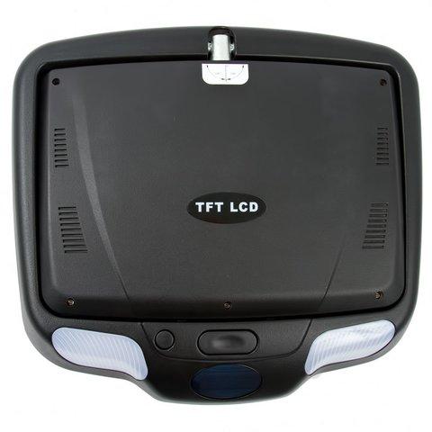 """9"""" Автомобільний стельовий монітор з DVD-плеєром (чорний) Прев'ю 2"""
