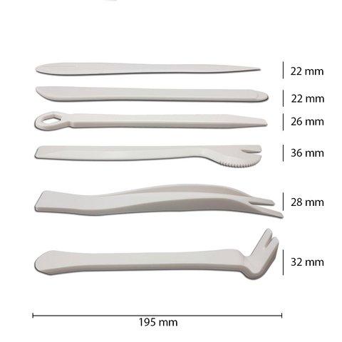 Набор инструментов для снятия обшивки (полиуретан, 6 предметов) Превью 1