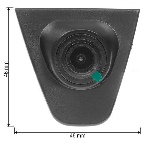 Камера переднього виду для Honda Fit/City 2013-2017 р.в. Прев'ю 1