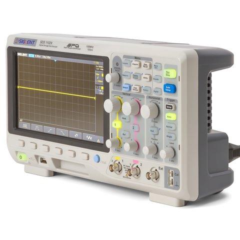 Фосфорний цифровий осцилограф SIGLENT SDS1102X Прев'ю 2
