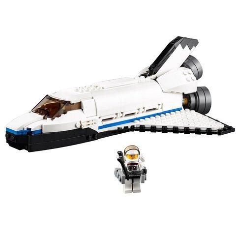 Конструктор LEGO Creator Космічний дослідницький шаттл 31066 Прев'ю 4