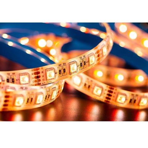 Світлодіодна стрічка RGB+WW SMD5050 (300 світлодіодів, 12 В, 5 м, IP65) Прев'ю 1