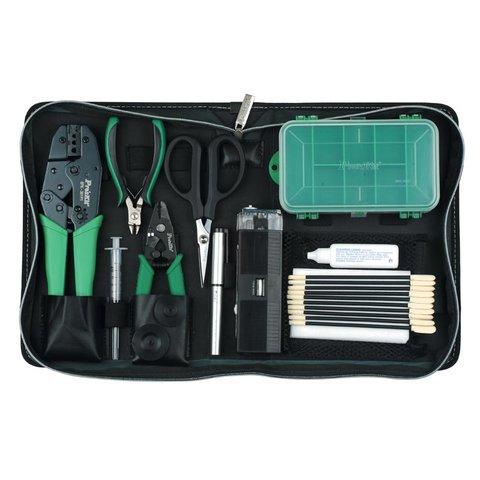 Набір інструментів Pro'sKit 1PK-940KN для роботи з оптоволоконними кабелями - Перегляд 2