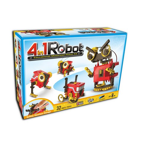 CIC 21-891 Educational Motorized Robot Kit 4 in 1