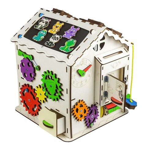 Бізіборд GoodPlay Будиночок для розвитку (30×30×40) Прев'ю 3