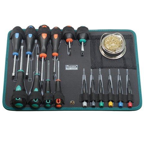 Juego de herramientas para electricista Kit Pro'sKit PK-15305B - Vista prévia 3