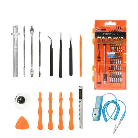 74 in 1 Mobile Phone and Tablet Repair Tool Kit Jakemy JM-P02 Preview 1